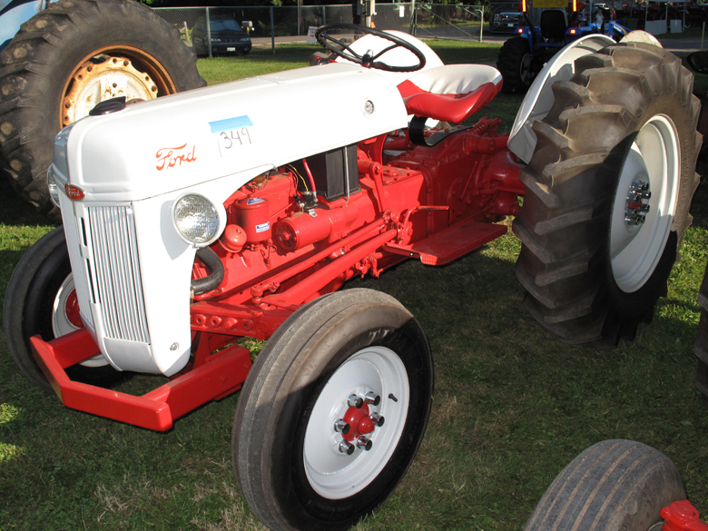Ford 600 Tractor Hood : Ford n tractor parts for series tractors