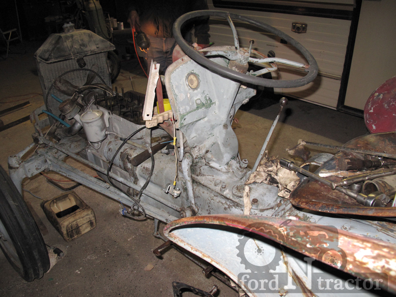 Ford N Steering Wheel