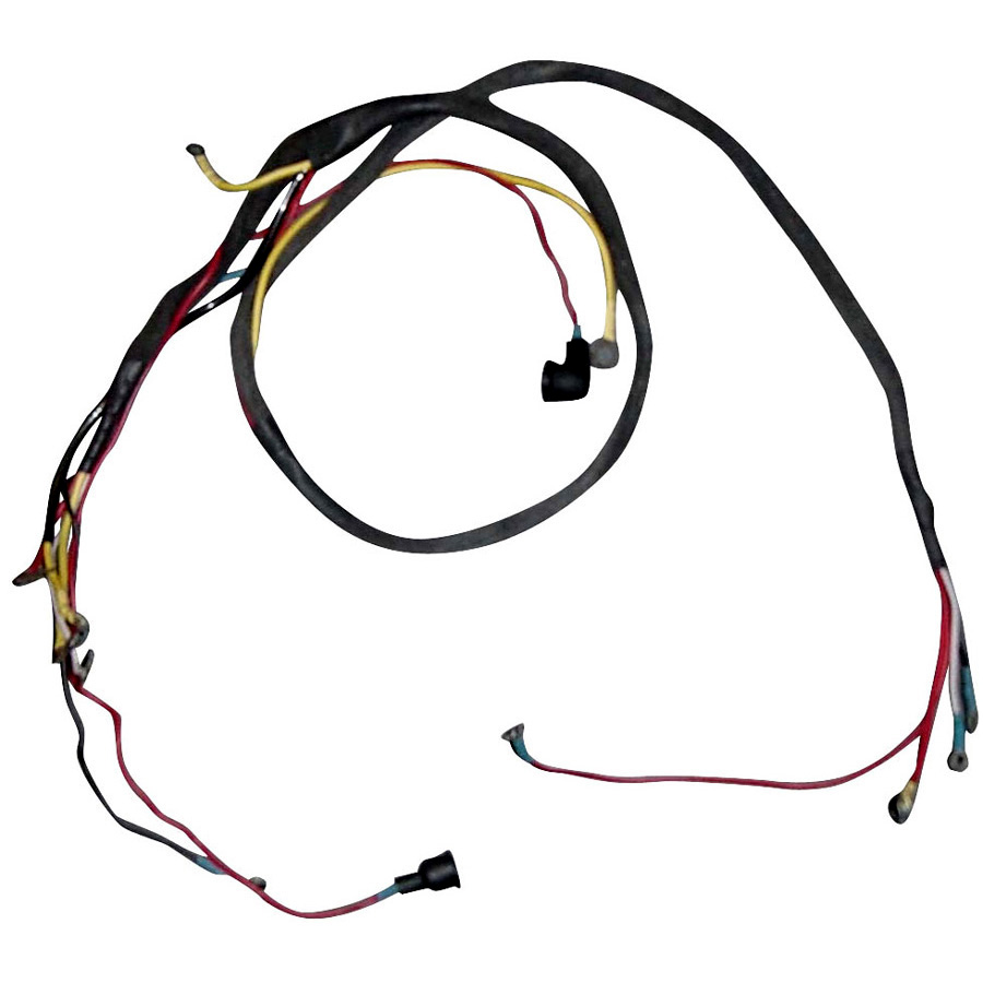 1100-0584hn  new holland wiring harness wirirng harness for 8n u0026 39 s w  side mount distributor