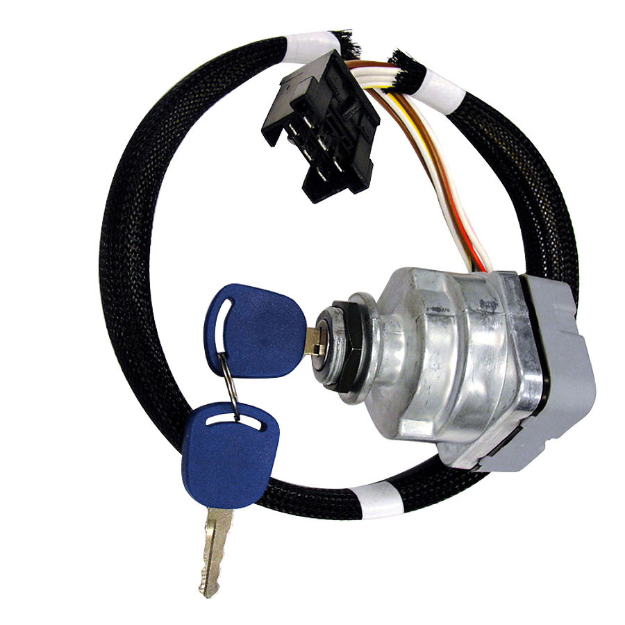 1100-0962 - Ford  New Holland Ignition Switch Complete Switch With 2 Keys