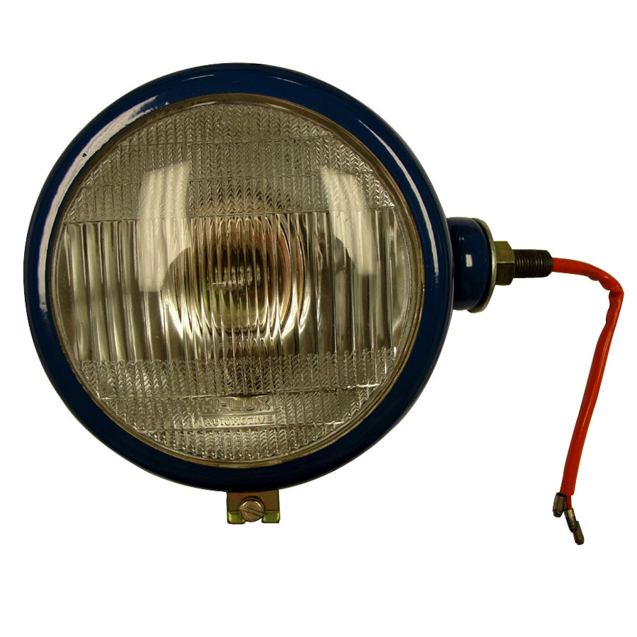 12 Volt Tractor Implement Light : Ford new holland head light blue rh volt