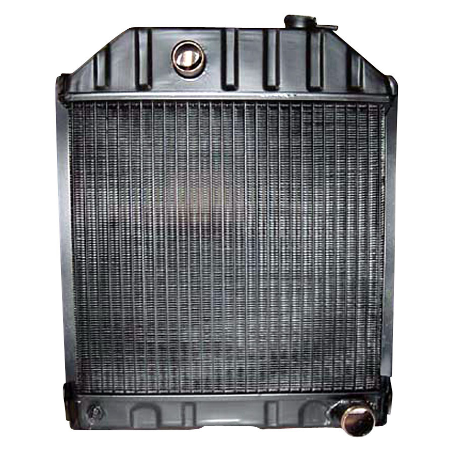 Ford 8n Cooling Fan : Ford new holland radiator core is quot high
