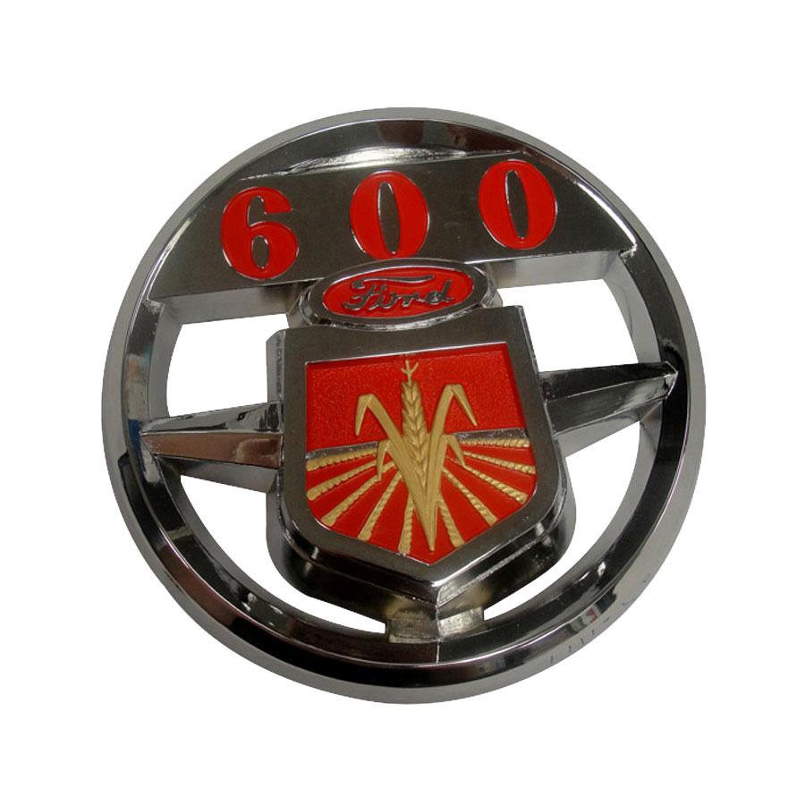 Ford 600 Tractor Hood : Ford new holland emblem hood n