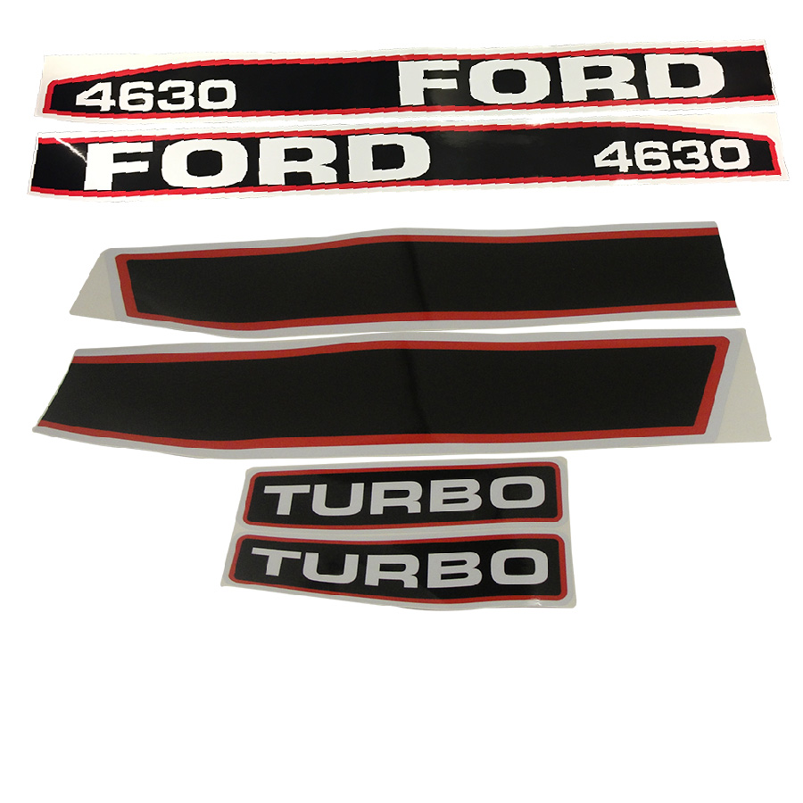 Ford Service Decals : Ford new holland decal set hood