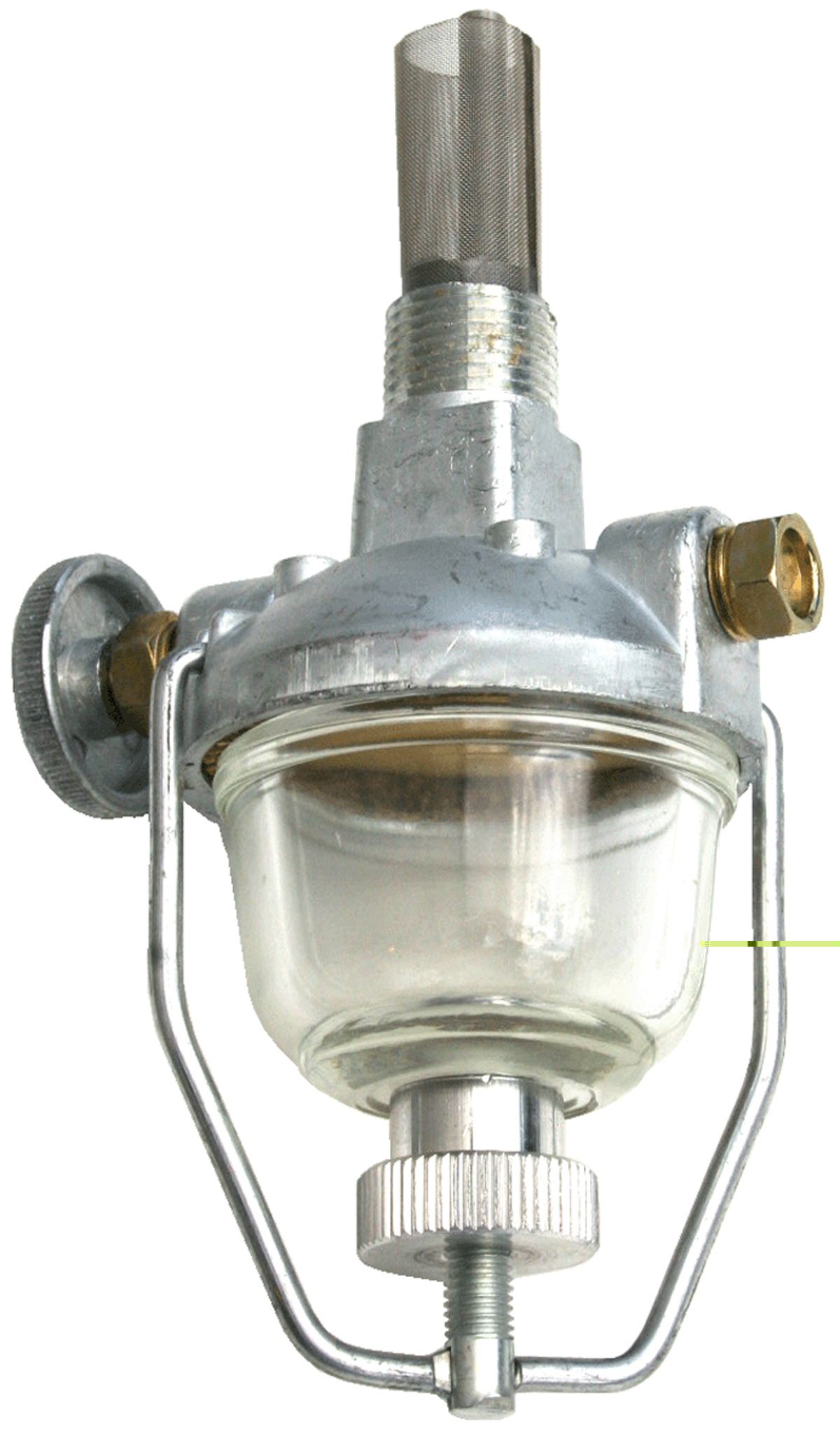 1103-3397 - ford 9n 2n 8n fuel strainer (sediment bowl ... 8n ford fuel filter #15