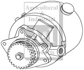 d8nn3k514kc - pump  power steering