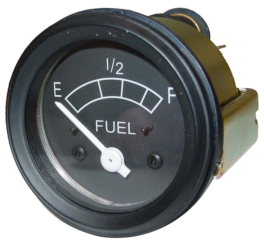 Ford Tractor Fuel Gauge : Fds fuel gauge w black bezel ford n tractor parts