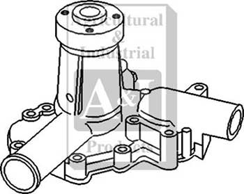 ford 1310 tractor hydraulic pump