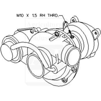 Ford 8n Water Pump