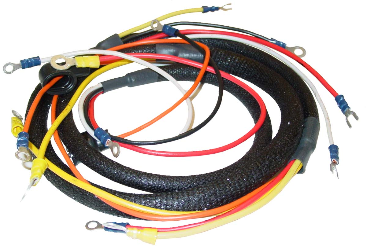 Abc076 - Wiring Harness  Main Harness Only  - Ford N Tractor Parts