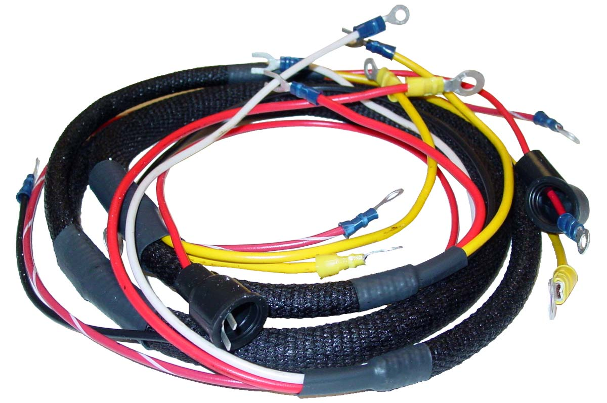 Abc077 - Wiring Harness 8n Ford Tractor  Main Harness Only  - Ford N Tractor Parts