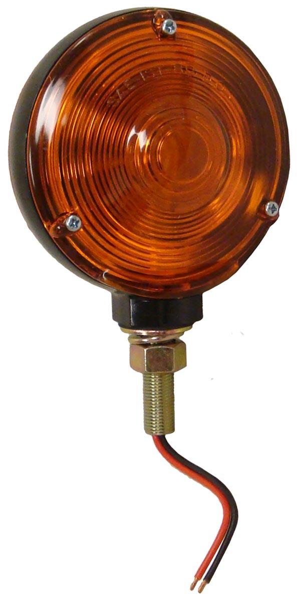 ABC544 - ROUND FENDER & CAB MOUNT WARNING & LIGHT - Ford N ...