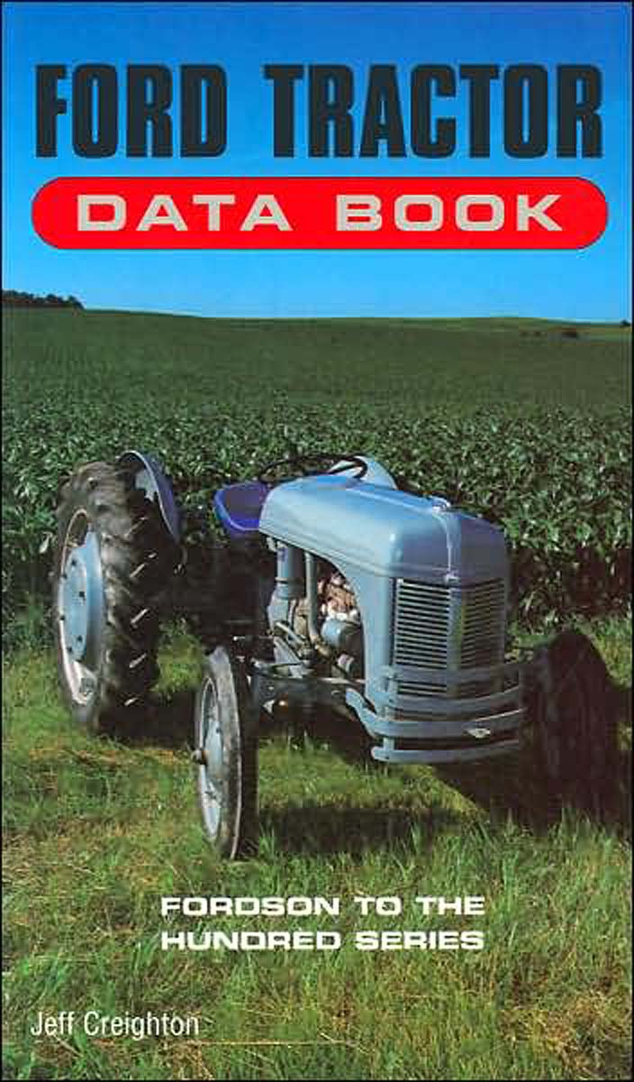 bok book ford tractor data book fordson