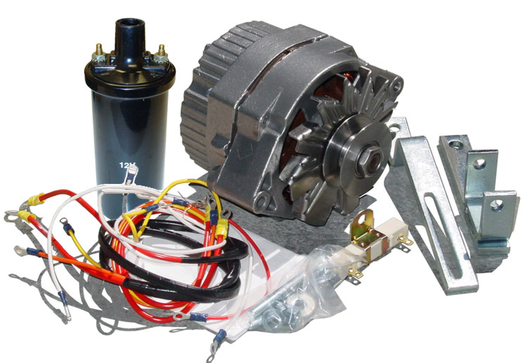 Fds245 - Alternator Conversion Kit - Ford N Tractor Parts