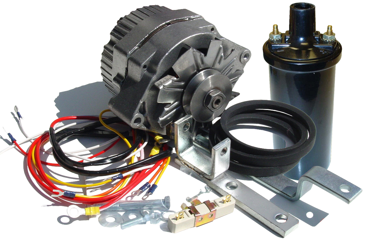 Fds249 - Alternator Conversion Kit - Ford N Tractor Parts