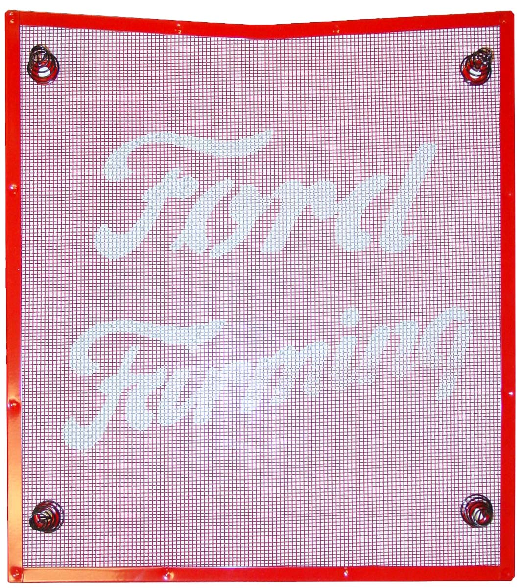 Fds290 Red Front Grill Screen W Fasteners Ford N Tractor Parts 8n Detailed Description