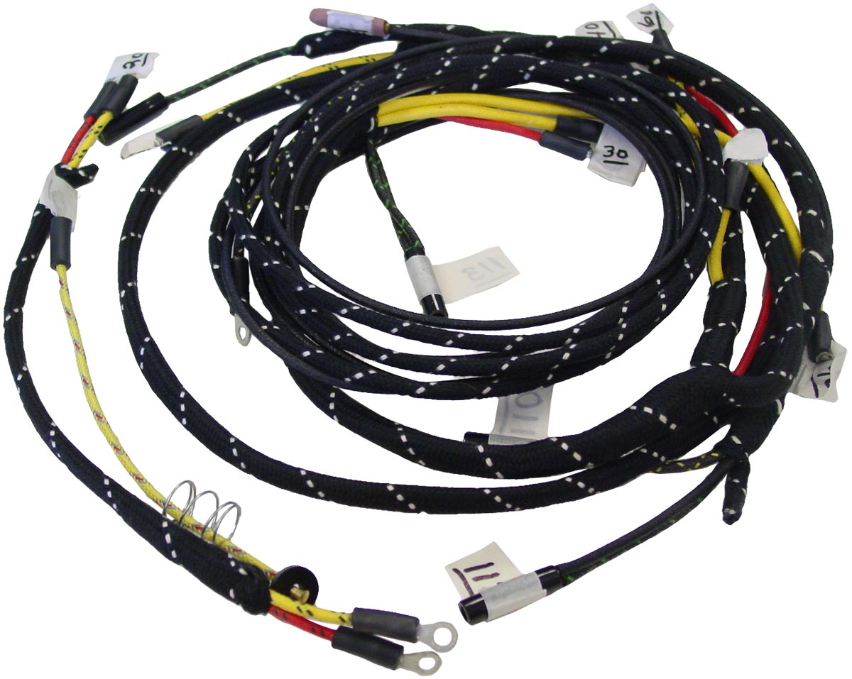 ford interceptor utility wiring harness kits fds470 - restoration quality wiring harness kit - ford n ... iphone ford wiring harness kits
