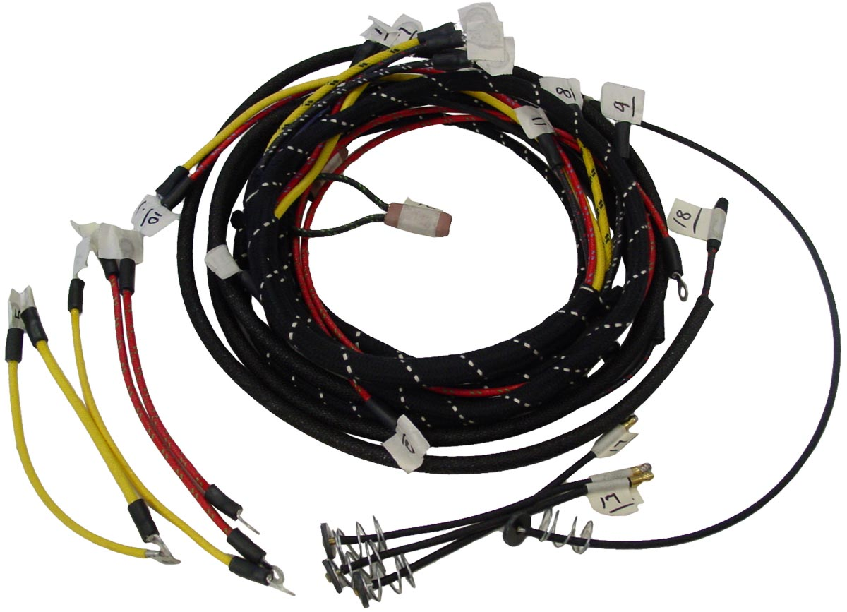 Fds474 - Restoration Quality Wiring Harness Kit - Ford N Tractor Parts