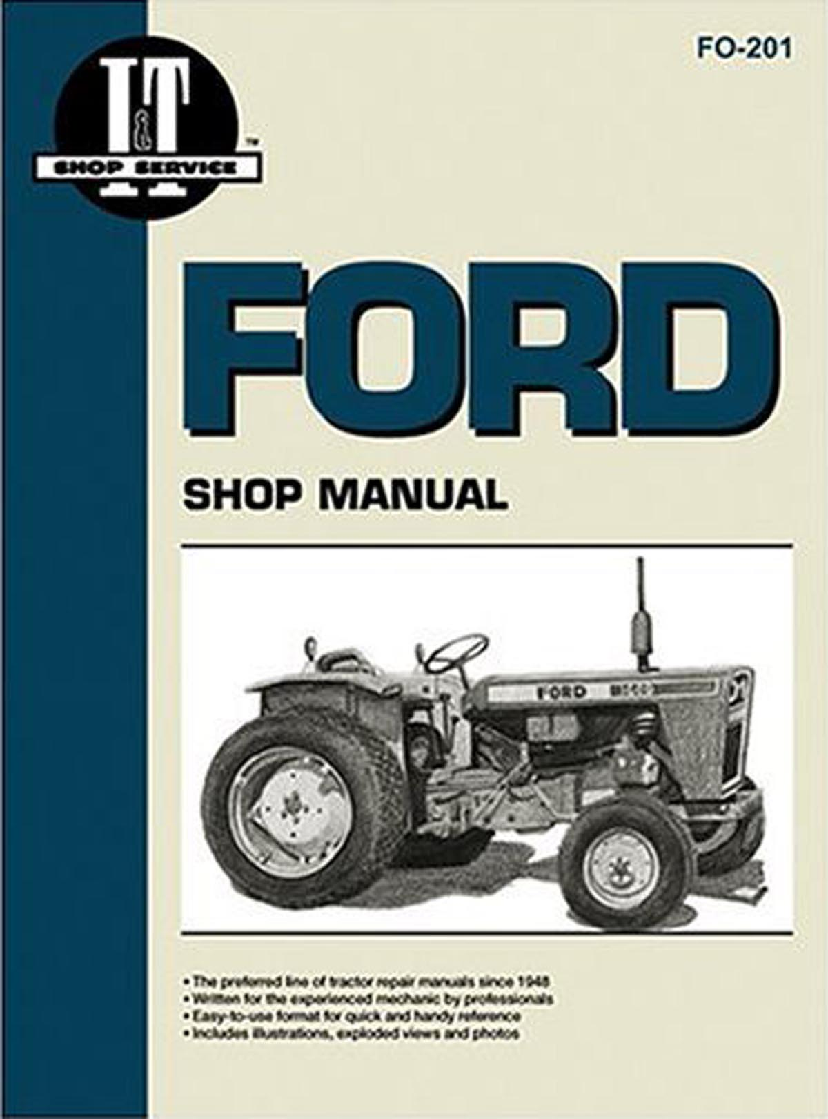 Ford N Tractor Parts For Series Tractors 8n 2n And 2810 Alternator Wiring Diagram I T Shop Service Manual