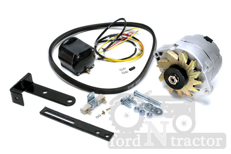 Ford 8n Alternator Conversion : Ford n tractor alternator conversion kit